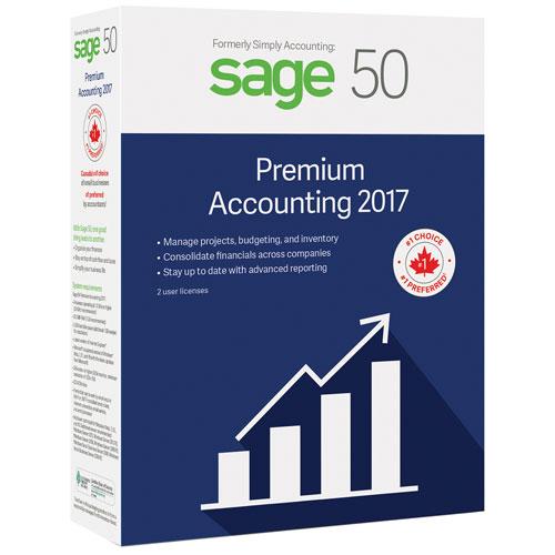 Sage 50 Comptabilité Supérieur 2017 (PC)