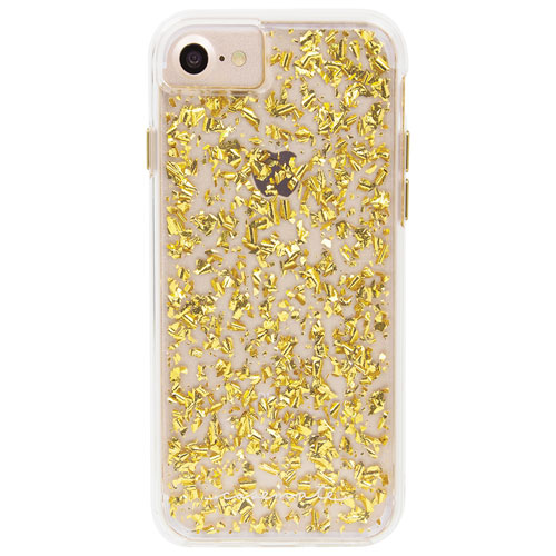 Case-Mate Karat iPhone 7/8 Fitted Hard Shell Case - Gold