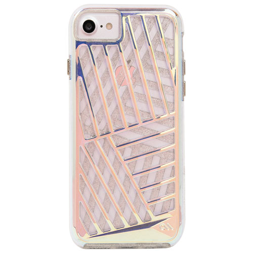 Case-Mate Tough Layers iPhone 7/8 Fitted Hard Shell Case - Cage Glam