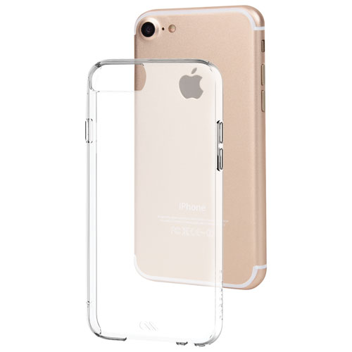 Case-Mate Barely There iPhone 7/8 Fitted Hard Shell Case - Clear