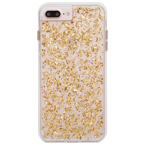 Case-Mate Karat iPhone 7/8 Plus Fitted Hard Shell Case - Gold
