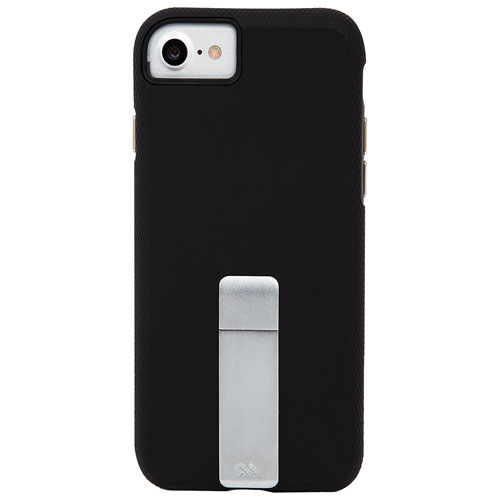 Étui rigide ajusté Tough Stand de Case-Mate pour iPhone 7/8 - Noir