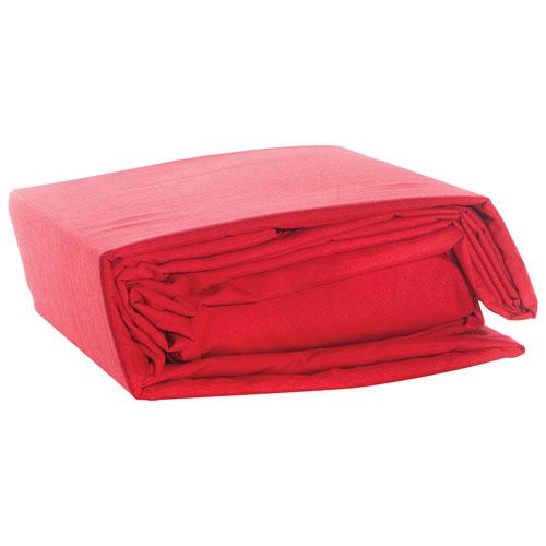 Gouchee Design 100% Microfiber Sheet Set - Single - Red