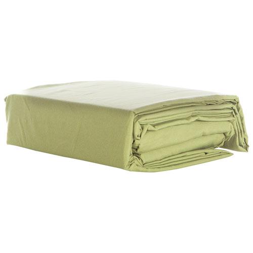 Gouchee Design 100% Microfiber Sheet Set - Double - Green