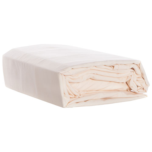 Gouchee Design 100% Microfiber Sheet Set - Double - Ivory