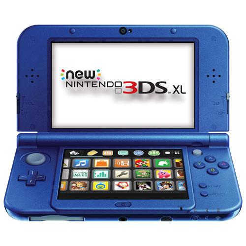 new Nintendo 3DS XL Galaxy Edition - Blue