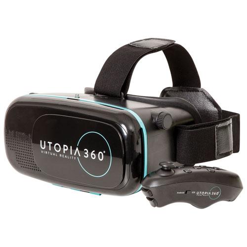 Retrak Utopia 360 Vr Headset With Bluetooth Controller Virtual
