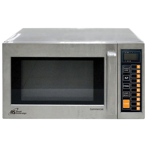 Royal Sovereign 0.9 Cu.Ft. Commercial Microwave (RCMW1000-25SS) - Silver