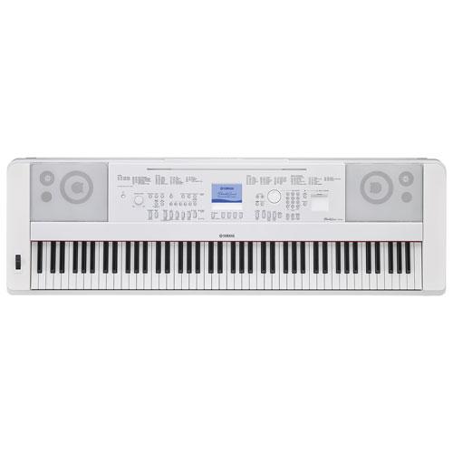 yamaha 88 key digital piano. yamaha 88-key digital piano (dgx660 wh) - white 88 key