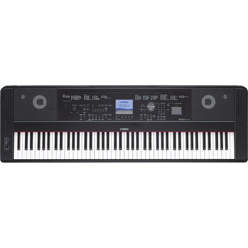Piano numérique à 88 touches de Yamaha (DGX660 B) - Noir