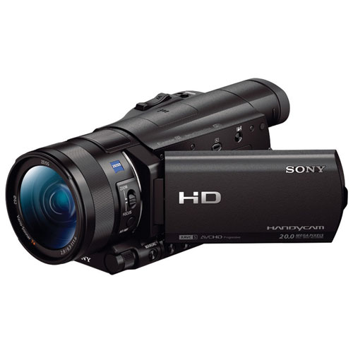Caméscope HD à mémoire flash HDR-CX900 de Sony