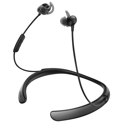 bose quiet control 30 wireless bluetooth in ear headphones black earbuds in ear headphones. Black Bedroom Furniture Sets. Home Design Ideas