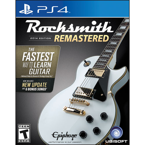 Rocksmith 2014 Edition Remastered (PS4)