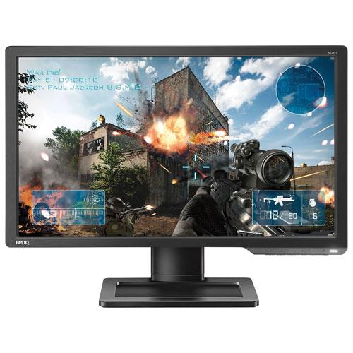 "BenQ Zowie 24"" eSports Tournaments FHD 144HZ 1ms GTG TN LED Gaming Monitor (XL2411) - Black/Red"