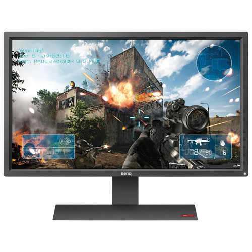 "BenQ Zowie 27"" Console eSports FHD 60HZ 1ms GTG TN LED Gaming Monitor (RL2755) - Black"