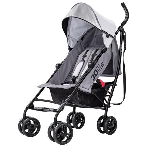 Summer Infant 3D Lite Lightweight Stroller - Grey