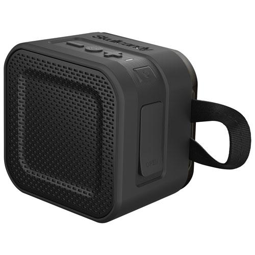 Haut-parleur Bluetooth portatif robuste résistant aux éclaboussures Barricade Mini Skullcandy - Noir