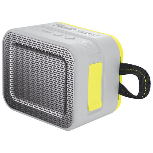 Skullcandy Barricade Rugged/Waterproof Portable Bluetooth Speaker - Grey