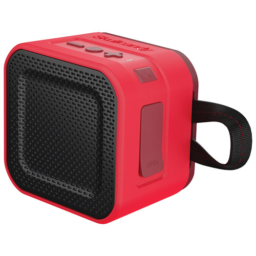 Skullcandy Barricade Mini Rugged/Splashproof Portable Bluetooth Speaker - Red