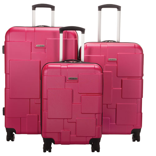 Samsonite Pinsky 3-Piece Hard Side Expandable Spinner Luggage Set ...