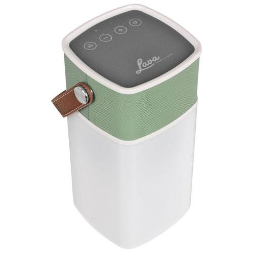 Lava BrightSounds Rugged/Splashproof Bluetooth Wireless Speaker - Green