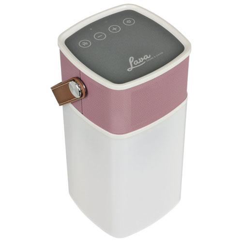 Enceinte sans fil Bluetooth résistant aux éclaboussures/robuste BrightSounds de Lava - Rose