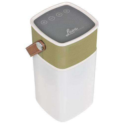 Enceinte sans fil Bluetooth résistant aux éclaboussures/robuste BrightSounds de Lava - Moutarde