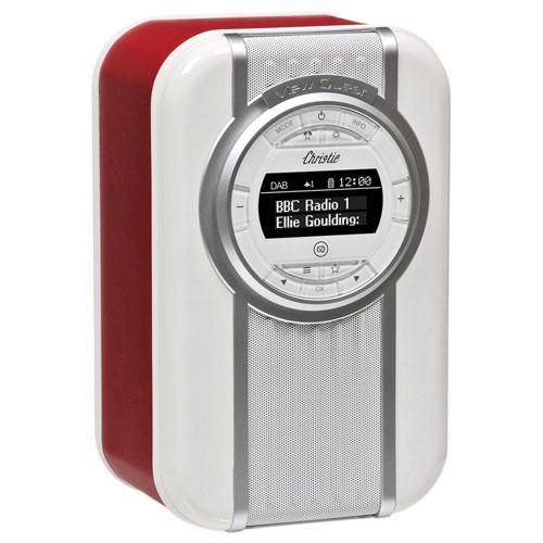 VQ Christie Bluetooth Clock Radio - Red