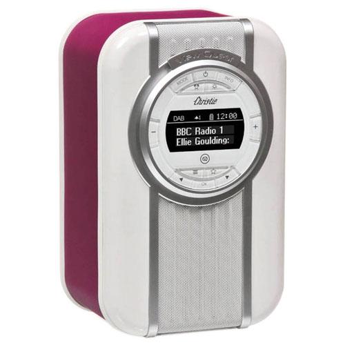Radio-réveil Bluetooth Christie de VQ - Violet foncé