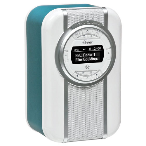 VQ Christie Bluetooth Clock Radio - Teal