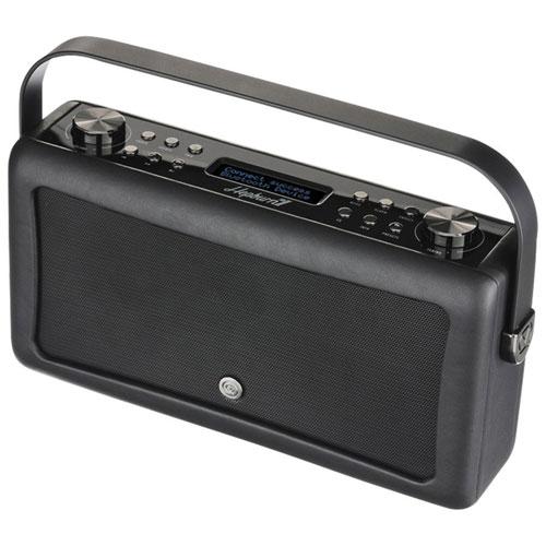 VQ Hepburn Mk II Bluetooth Clock Radio - Black