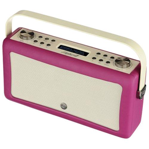 VQ Hepburn Mk II Wireless Bluetooth Clock Radio (VQ-HEPMKII-DP/US) - Deep Purple
