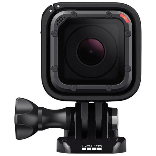 Caméra GoPro HERO5 Session 4K étanche pour casque et sport - Noir