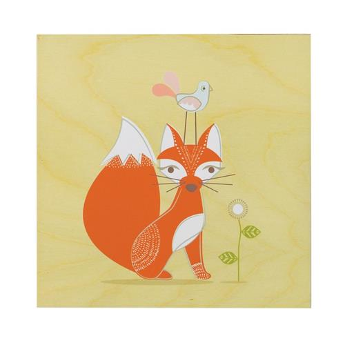 Wall Plaque - Fox