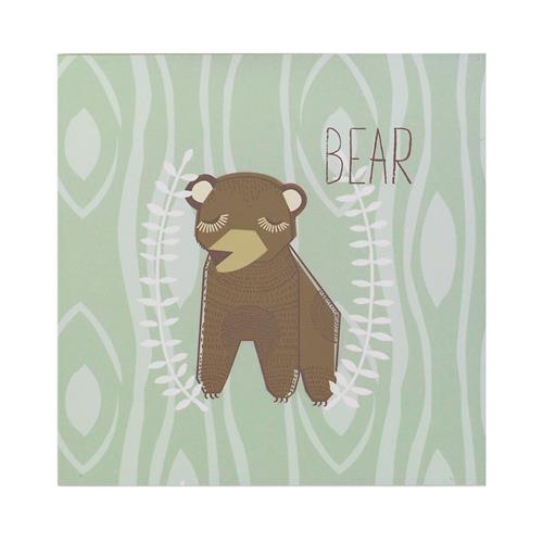 Wall Plaque - Bear