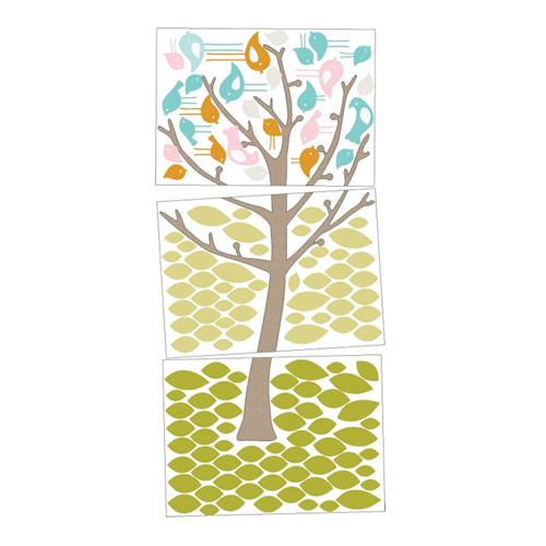 Wall Decals - 'Tweets in Tree'