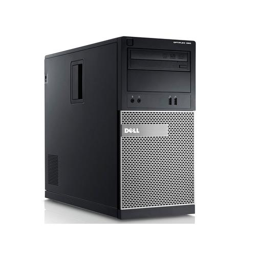 DELL Optiplex 390 MT, Intel i3-2100, 8GB Memory, 1TB HDD, DVDRW, Windows 10 Pro, Keybaord & Optical Mouse, 1YW, Refurbished