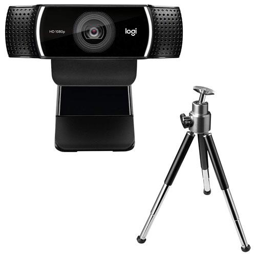 Caméra Web HD 1080p C922 Pro Stream de Logitech