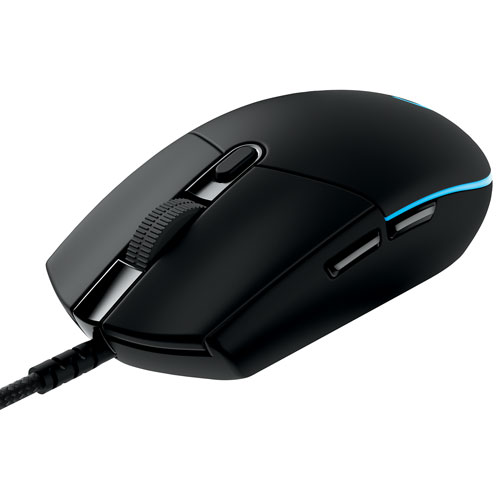Logitech G Wired Optical Pro Gaming Mouse (910-004855) - Black