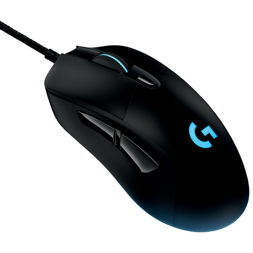 b3d85e286f5 Logitech G403 Prodigy Wired Optical Gaming Mouse - Black | Best Buy Canada