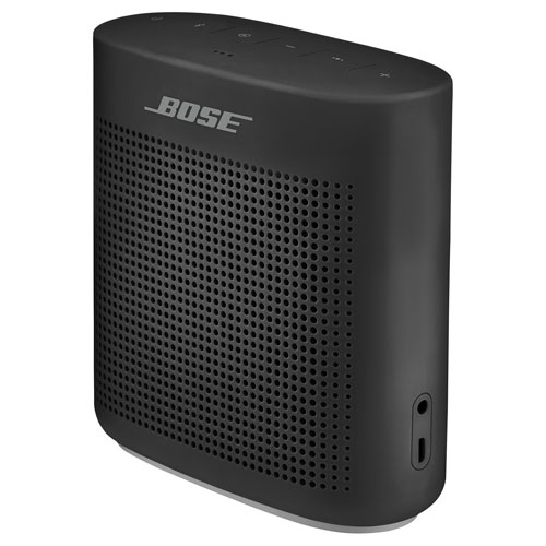Bose SDLK Color II Black Splashproof Bluetooth Wireless Speaker - Black