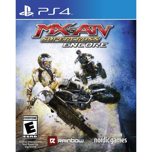 MX vs ATV Supercross Encore (PS4) - English