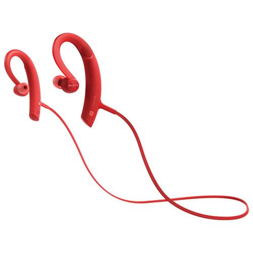 Sony In-Ear Wireless Sport Headphones (MDRXB80BS/R) - Red