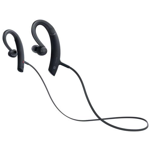 Sony In-Ear Wireless Sport Headphones with Built-in Mic (MDRXB80BS/B) - Black