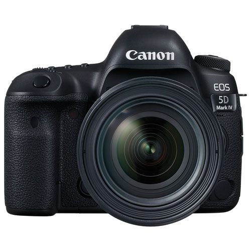 Canon EOS 5D Mark IV DSLR Camera with EF 24-70mm F4L IS USM Lens Kit