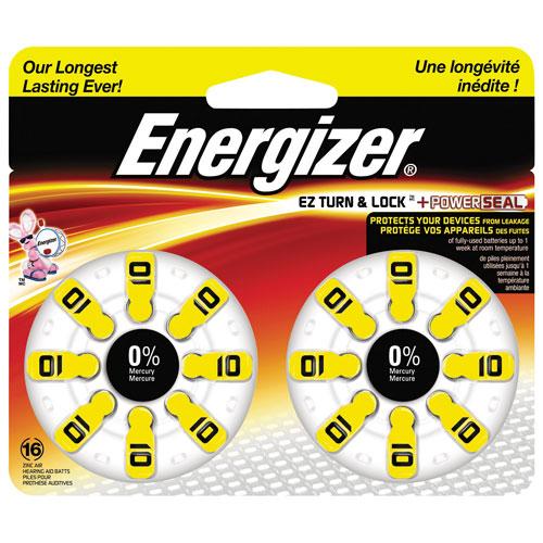 Pile d'Energizer pour appareil auditif (AZ10DP16)
