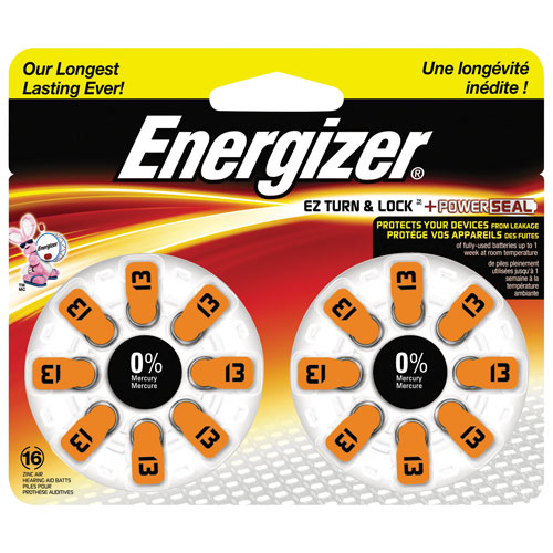 Energizer Hearing Aid Battery (AZ13DP16)