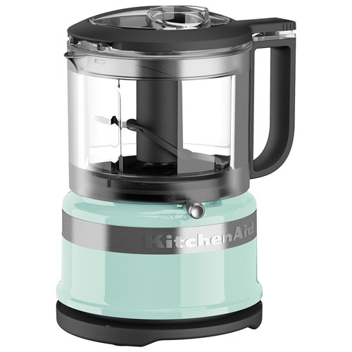 KitchenAid Mini Food Processor   3.5 Cup   Ice Blue : Food Processors    Best Buy Canada Great Ideas