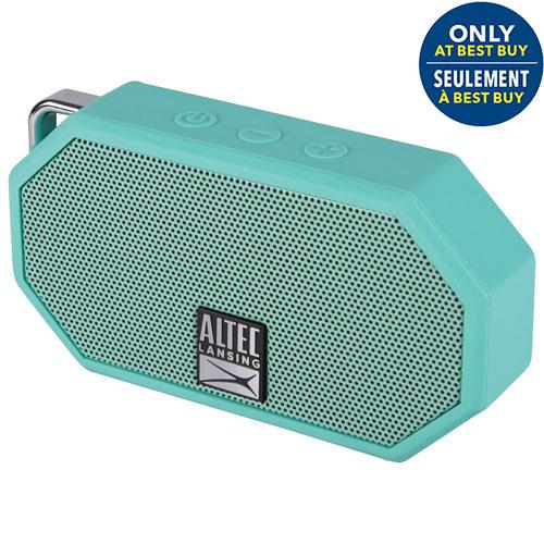 Altec Lansing Mini H2O II Waterproof Mudproof Snowproof Dustproof Wireless Bluetooth Speaker - Mint - Only at Best Buy