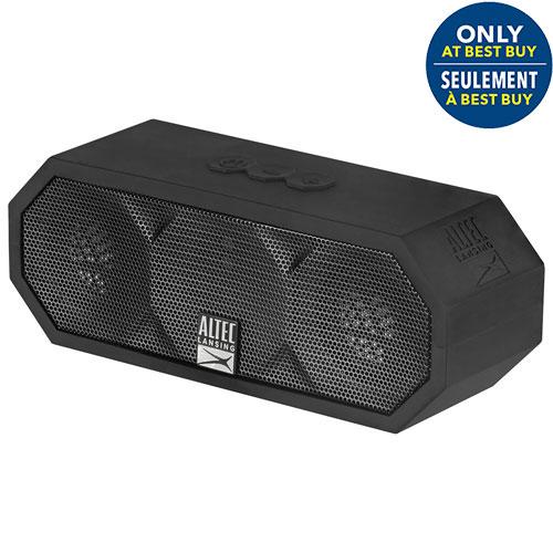 Altec Lansing H2O III Waterproof Mudproof Snowproof Dustproof Wireless Bluetooth Speaker - Black - Only at Best Buy